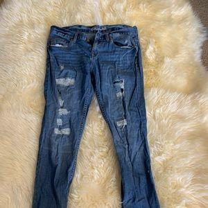 Aeropostale Kylie Boyfriend Jeans Size 10 reg